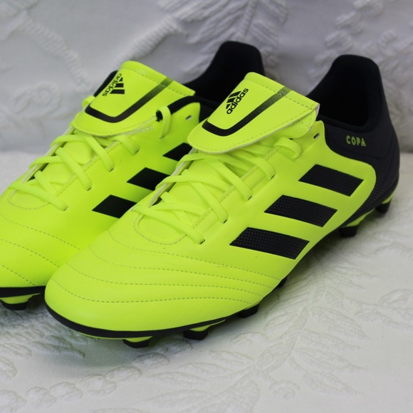 half off 5a024 c9a02 Addidas Copa Soccer Cleats Neon Green Size 12 New